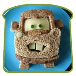 Mater als boterham
