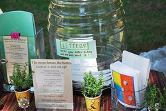 write in materials at the elysian park eat-in