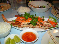 Tien Giang - Whole Fried Red Snapper