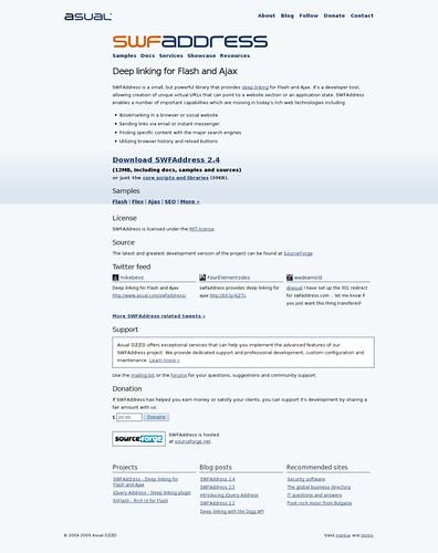herramientas para deeplinkear en flash, ajax y otros