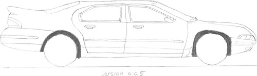 Drawing cars, version 0.0.5