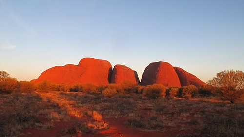 Kata Tjuta sunset