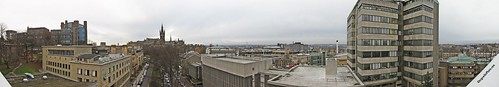 Glasgow University Panorama (from the roof of the QMU)