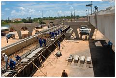 Visita às obras do viaduto da PE-15