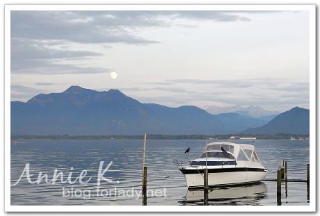 基姆湖月亮