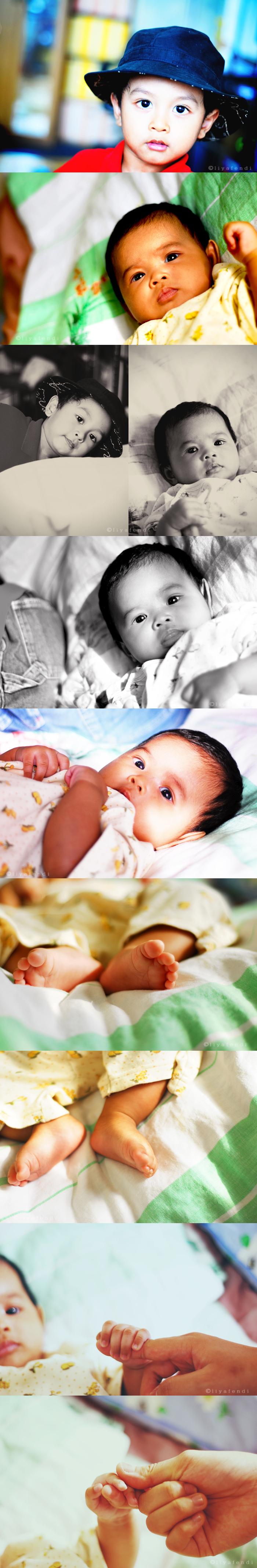 Baby Sumayah & Hafiz kun