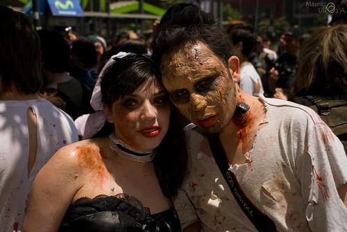 Zombie Couple.