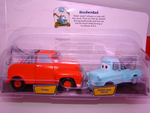 CARS Storytellers Bubba n new mater