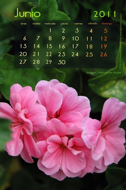 Calendario Junio 2011