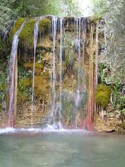 Der tropische Wasserfall bei Mignano