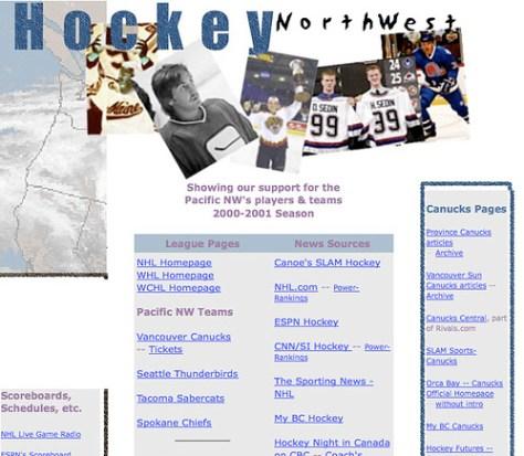 Hockey ... Northwest