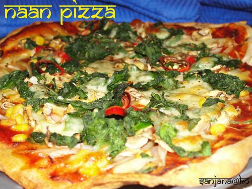 naan pizza 8