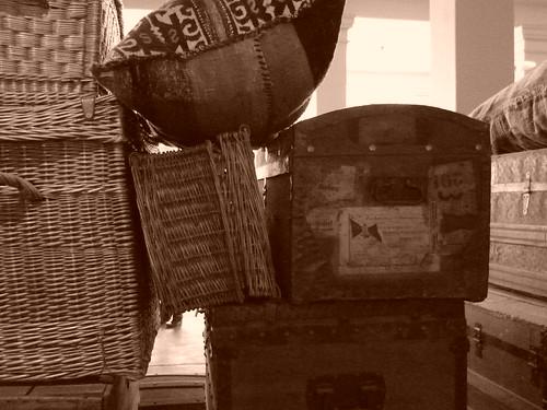 Ellis Island luggage