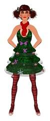 Xmas Tree Pixie {Front}