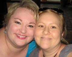 Sara & I at Tupelo's World Cafe in Boone, NC