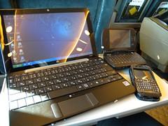 HP Mini 1000, E71 & O2 Exec