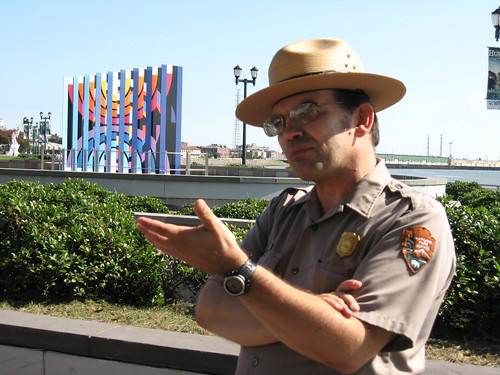 National Park Ranger talking about New Orleans