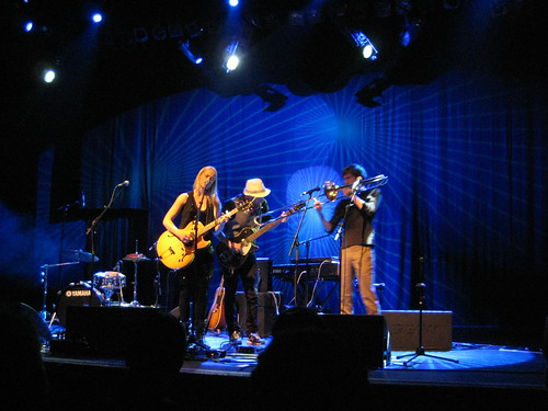 Tina Dico and her band