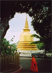 Buddhist Stupa in Burma. Photo © John Aske