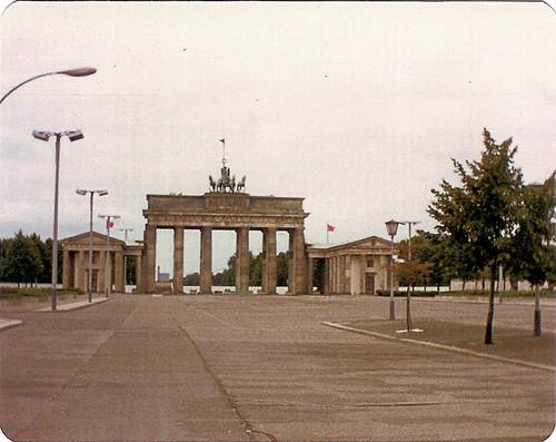 Brandenburger Tor im Osten