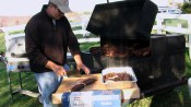 Cooking ribs