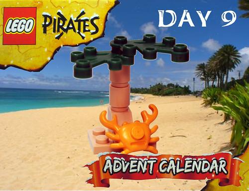 Pirate Advent Calendar Day 9