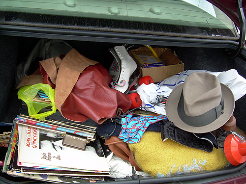 Junk In My Trunk 8-8-09