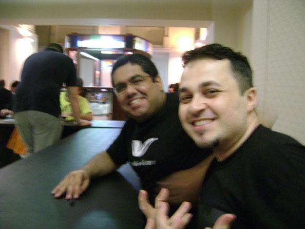 Eu e Samir na pose - foto de Jader !