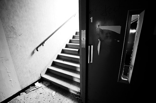 Lift Or Stairs? by LilFr38