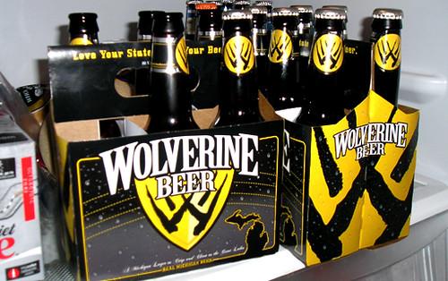 wolverine beer por ti.