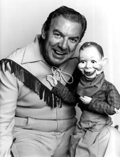 Portrait of Buffalo Bob Smith and Howdy Doody:...