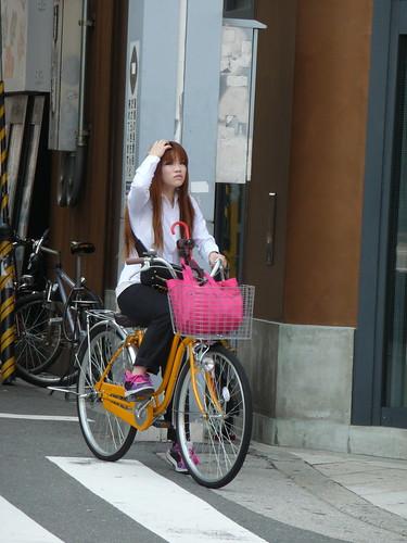 Bike chic for girls, Osaka