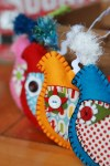 Playful Partridge Christmas Holiday Felt Ornament Pattern & Craft Tutorial