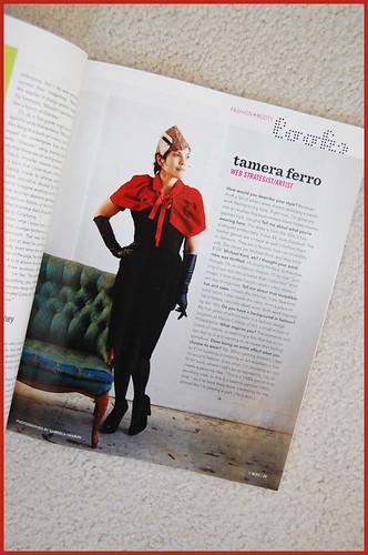 BUST magazine -- dec/jan 2010