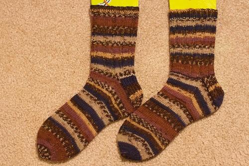 Grandma Weiss Christmas Socks 2009