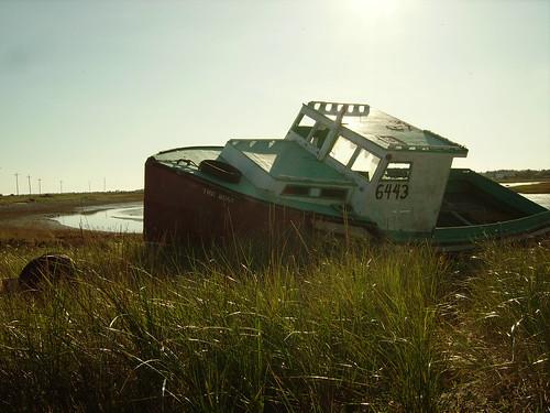 lobster boat Nova Scotia wreck