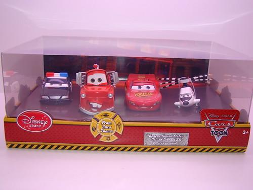 disney store CARS rescue squad mater 4 pc set (1)