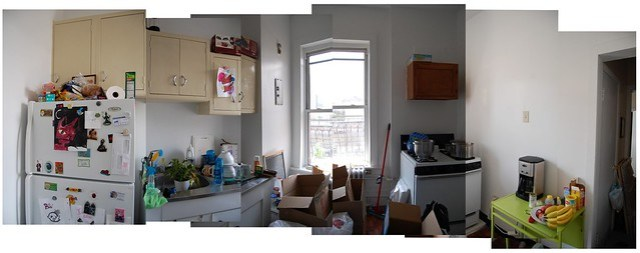 new kitchen panorama