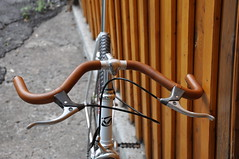 Leather handlebar
