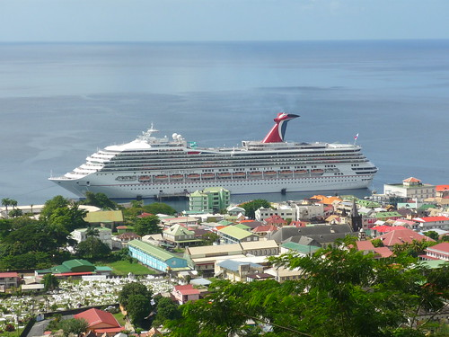 Cruise ship, Roseau, Dominica