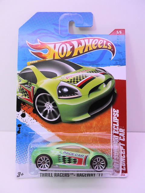 hot wheels mitsubishi eclipse concept green (1)