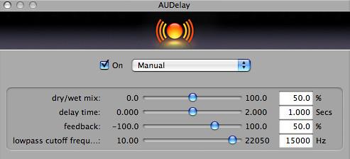 AUDelay - GarageBand '08