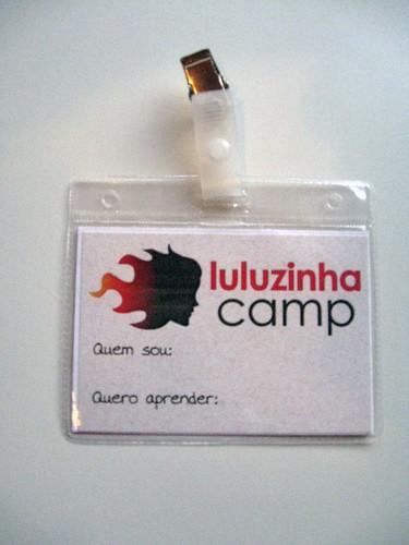 Crachá LuluzinhaCamp