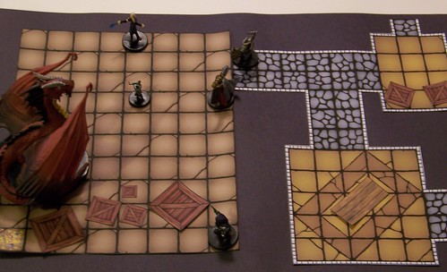 picture about Free Printable Dungeon Tiles titled DM Riches: Printable Dungeon Tiles DungeonBriefs