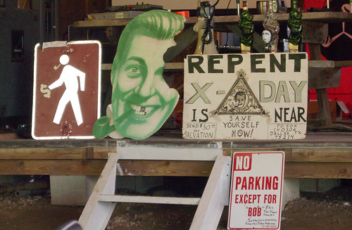 20090705 - X-Day - GEDC0386 - SubGenius signs - please click through to leave a comment on FlickR
