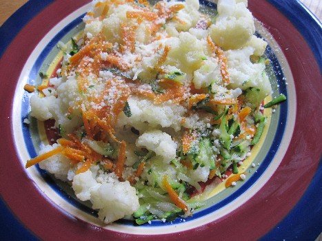 Plate O'Veggies