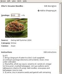 Gourmet Recipe Manager sm