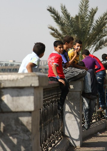 ALONG THE NILE BANKS IN CAIRO 9/22/09
