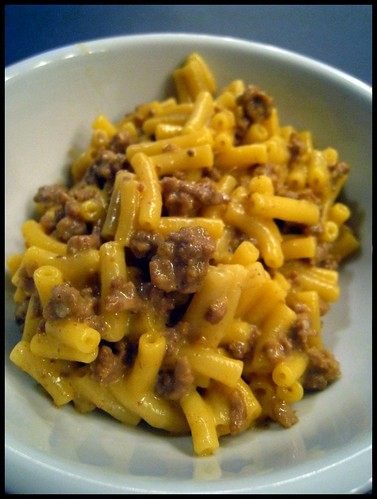Frizzled Beef and Macaroni