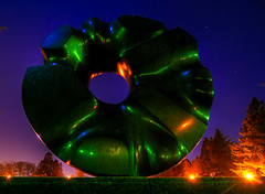 Black Sun by Isamu Noguchi, Volunteer Park, Se...